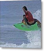 Ponce Surfer Soar Metal Print