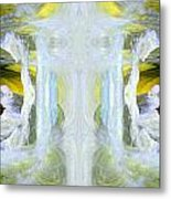 Pond In Fairyland Metal Print by Joe Halinar