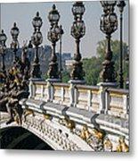 Pont Alexander IIi Metal Print