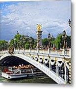 Pont Alexander IIi Metal Print by Elena Elisseeva