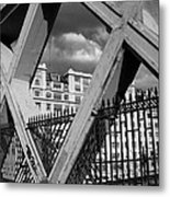 Pont Lafayette Paris Metal Print