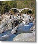 Ponte Dei Salti - Lavertezzo Metal Print
