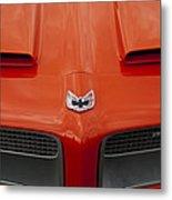 Pontiac Firebird Grille Metal Print