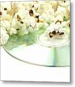 Popcorn And Movie  Metal Print