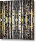Poplar Cathedral Metal Print