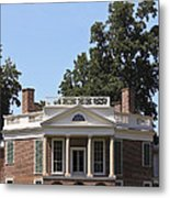 Poplar Forest From The Lawn Metal Print