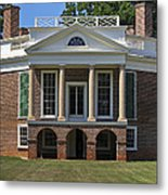 Poplar Forest From The South Lawn Metal Print