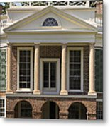 Poplar Forest South Portico Metal Print