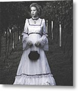 Porcelain Doll Metal Print