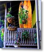 Porch Surf Metal Print
