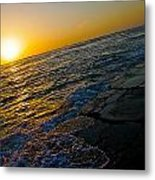 Port Aransas Sunrise Metal Print