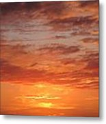 Port Henderson Sunset 2 Metal Print