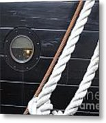 Port Hole Constellation Metal Print