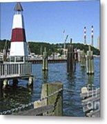 Port Jefferson Harbor Metal Print