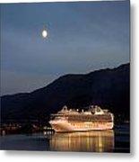 Port Of Juneau Metal Print