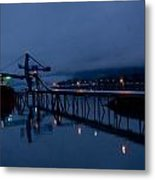 Port Of Seward - Alaska Metal Print
