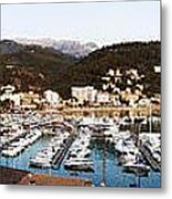 Port Of Soller Metal Print