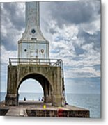 Port Washington Lighthouse Metal Print