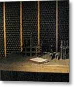 Port Wine Cellar Metal Print