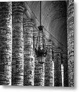 Portico Metal Print by Joana Kruse