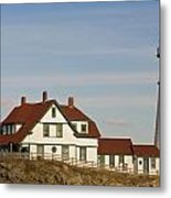 Portland Head Light Profile Metal Print