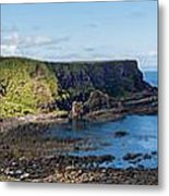 Portnaboe Bay At Giants Causeway Metal Print