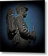 Portrait 31 American Civil War Metal Print