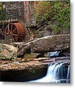 Portrait Of Glade Creek Mill Metal Print