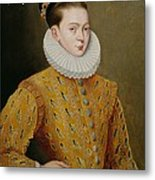 Portrait Of James I Of England And James Vi Of Scotland  Metal Print