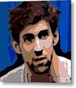 Portrait Of Phelps Metal Print