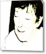Portrait Of Tears 1 Metal Print