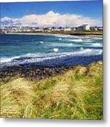 Portrush, Co Antrim, Ireland Seaside Metal Print