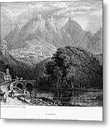 Portugal: Cintra, 1832 Metal Print