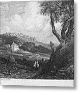 Portugal: Monastery, 1832 Metal Print