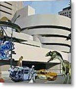 Post Nuclear Guggenheim Visit Metal Print