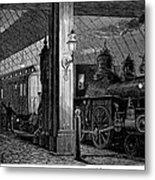 Postal Service, 1875 Metal Print