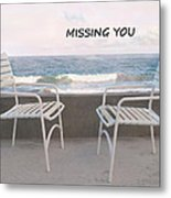 Poster Missing You Metal Print