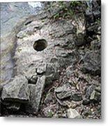 Pot Hole In Niagara River Metal Print