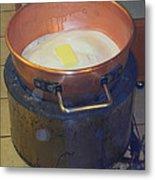 Pot Of Gold Caramel Metal Print