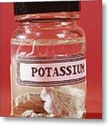 Potassium Metal Print