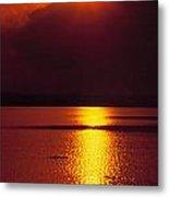 Potomac Sunrise Washington Dc Metal Print