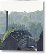 Potteries Urban Landscape Metal Print
