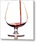 Pouring Wine Metal Print