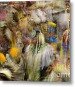 Pow Wow Color Metal Print