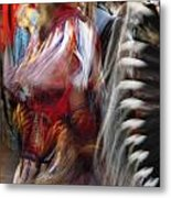 Pow Wow Dancer Metal Print