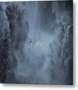 Power Of Water Metal Print