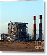 Power Station Metal Print