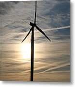 Power To The Sun Metal Print
