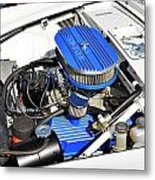 Powered By Ford Metal Print