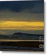 Powlett River On A Stormy Morning Metal Print